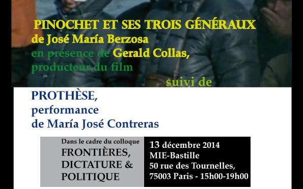 Film et performance, Paris, 13 déc. 2014