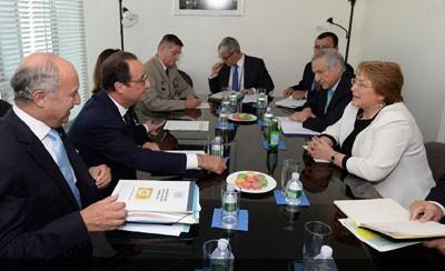 Visita oficial presidenta Bachelet a Francia
