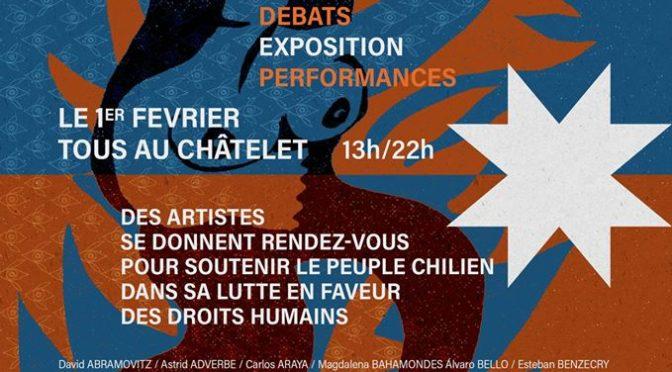 01.02.2020-Paris: Chili/ Arts en résistance