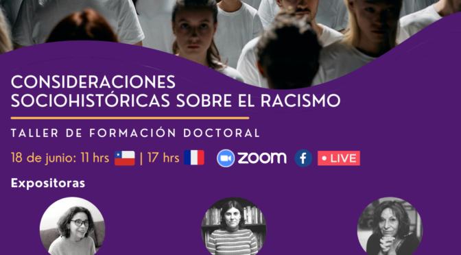 18.06.2021 Consideraciones sociohistóricas sobre el racismo
